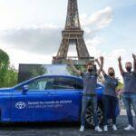 Ezer kilométeres hatótáv-rekord Toyota Miraival